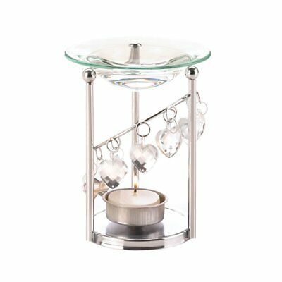 Oil Candle Warmer, Asian Therapy Essential Bejeweled Aroma Oil Warmer Burner
