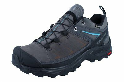 8d45bb69ad930 SALOMON X ULTRA Ltr Gore-Tex Asphalt Black Mens Nubuck Leather Trail ...