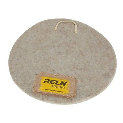 Reln Round Worm Farm Blanket w/ Handle 100% Natural Fibres Garden Compost Trays