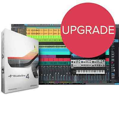 PreSonus Studio One 4 Pro UPGRADE from Pro 3 or 2 (Serial Download)
