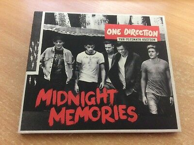 One Direction - Midnight Memories (2013) CD ALBUM CARDBOARD BOOKLET SLEEVE MB16