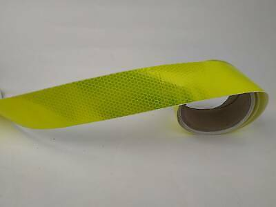 """Night Reflective Safety Warning Conspicuity Tape Strip Sticker 10M 2""""X32' Types"""
