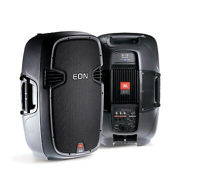 (2) x JBL EON 515 SPEAKERS with GENUINE JBL PROTECTIVE BAGS