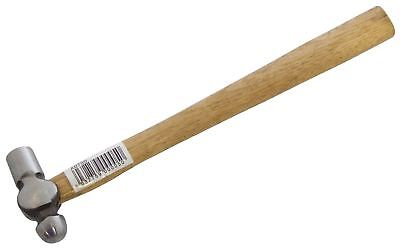 "4oz Ball Pein Hammer Hardwood Slim Wood Shaft Head Round/Ball End 10"" - Amtech"