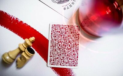 Red Knights Playing Cards // Madison, Ramsey & Ellusionist
