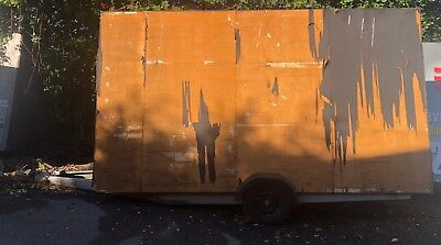 14ft x 8ft Advertising Trailer Mobile Billboard (Needs refurbishing)