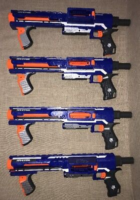 Lot Nerf Guns Rampage N Strike Elite