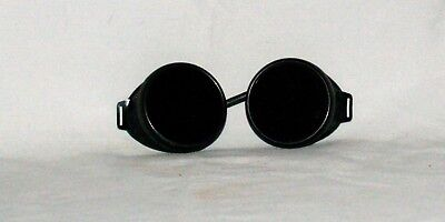 VINTAGE RETRO STEAMPUNKED Welding Goggles Vented Dark+Clear lenses