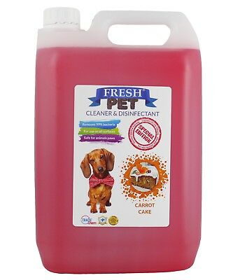 Fresh Pet Kennel Disinfectant Coffee Shop - Prefilled 5L Carrot Cake