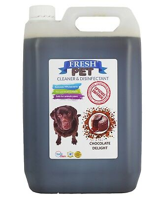 Fresh Pet Kennel Disinfectant Coffee Shop - Prefilled 5L Chocolate Delight
