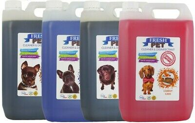 Fresh Pet Kennel Disinfectant Coffee Shop Collection - PREFILLED 4 x 5L Pack
