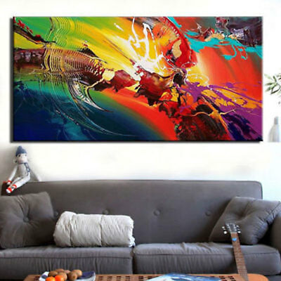 ZOPT236 large abstract modern handpainted wall art OIL PAINTING ON CANVAS