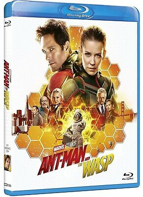 ANT-MAN And The Wasp (BLU-RAY) con Paul Rudd, Evangeline Lilly, MARVEL & DISNEY