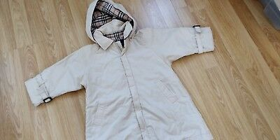 Designer Burberry Baby Parka - coat  in great condition -18 months