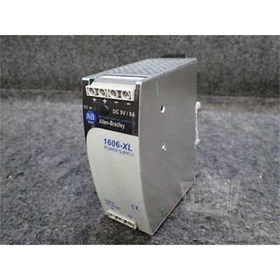 Allen-Bradley 1606-XLDC40A Power Supply, 40W 24/5-5.5VDC, 2.9/8A