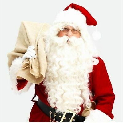 Christmas Costume Decorative Santa Claus Wig Beard Accessory Adult Fancy Dress