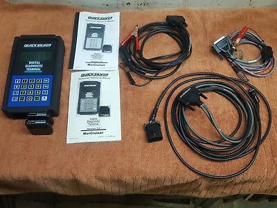MERCRUISER QUICKSILVER DDT Digital Diagnostic Terminal