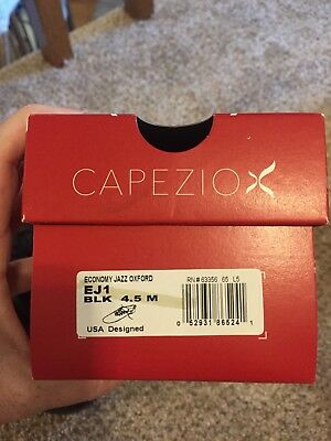 Capezio Girl's Black Jazz Shoes Size 4.5