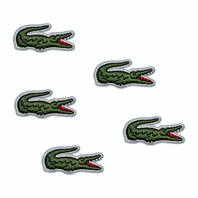 Embroidered Alligator Sport Sew Iron On Cloth Patches Badge Hat Fabric Applique