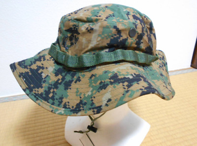 8bb76360baa USMC WOODLAND MEDIUM Boonie Hat EGA