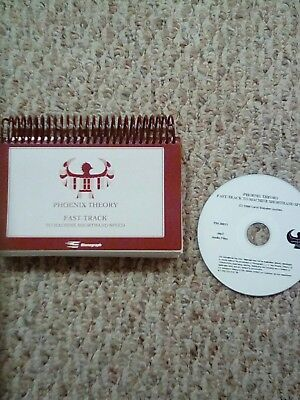 Phoenix Theory Fast Track book and CD - court reporting speed drills