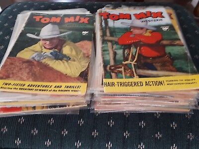 Huge 34 Issue Tom Mix Collection! Inc 1-4 6-11 Partial Run 13-58