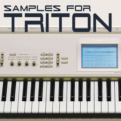 SAMPLES & PCG for KORG TRITON & TR, KEYMAPS READY TO PLAY KMP & KSF
