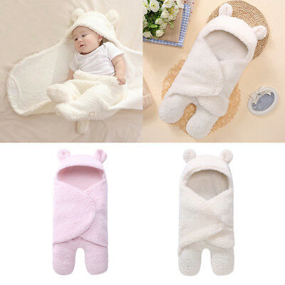 Kids Swaddle Wrap Newborn Infant Bedding Blanket Cotton Sleeping Bag Cotton Wrap