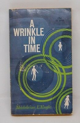 A Wrinkle in Time L'Engle Scholastic paperback TK 1595 1st Thus Printing