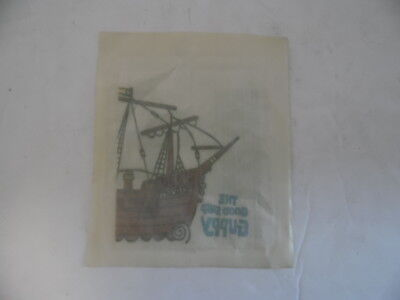 Vintage Cap'n Crunch  T-shirt Transfer. Cereal Prize Toy Kellogg's New Sealed.