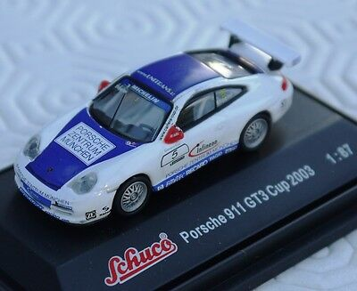 Porsche; 1.87 scale model of the 2003 GT3 Cup Car