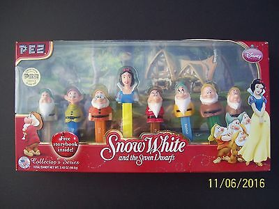 Snow White And Seven Dwarfs Collectable Pez Dispensers