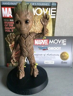 MARVEL MOVIE COLLECTION MEGA SPECIAL #4 Life-Size Groot Figurine 28 cm Guardian