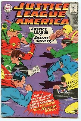 Justice League of America #56 (Sep 1967, DC) FN/VF