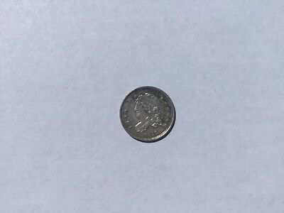 1835 Small Date, Large 5C coin - cleaned
