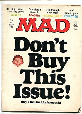 MAD magazine   N 217 May 1980 British Edition
