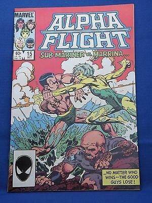Marvel Alpha Flight Comic #15 Oct 1984