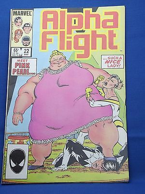 Marvel Alpha Flight Comic #22 May 1985