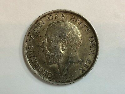 1917 Great Britain Half Crown