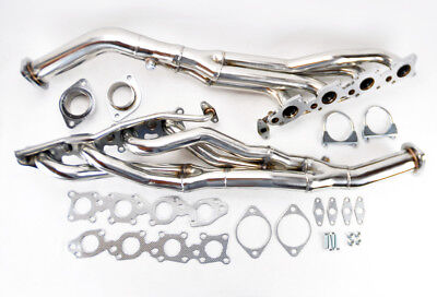 Stainless Exhaust Manifold Long Tube Headers For Toyota Tundra 07-16 5.7L V8