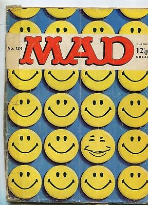 MAD magazine   N 124  British Edition