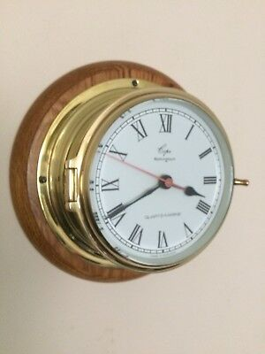 Ships Portal Style Clock, By Copes.