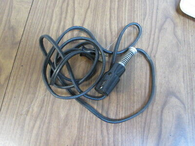 Vintage Leviton Small Appliance Power Cord 10A 125V 5A 250V 2 Prong Old