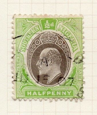 Southern Nigeria 1904-07 Early Issue Fine Used 1/2d. 275536