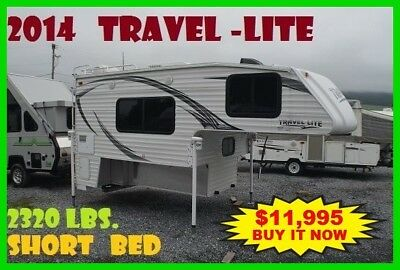2014 Travel Lite Truck Campers 890SBRX Series Used