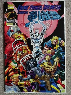 COSMIC POWERS UNLIMITED STARRING SILVER SURFER No. 5 May 1996 (Near Mint)