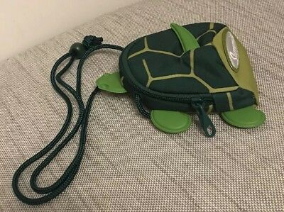 Sammies Samsonite Green Turtle Small Bag/Coin Purse With Strap