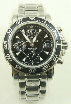 210b83b391a Montblanc Meisterstuck 7034 Automatic Chronograph 200m Mens Divers Watch