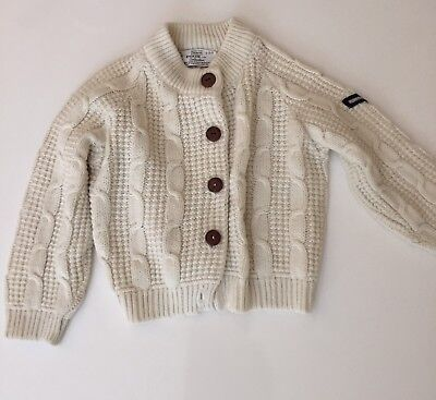 Vintage Winnie The Pooh Cable Knit Sweater 2 3 2t Sears Air Force Outfit White