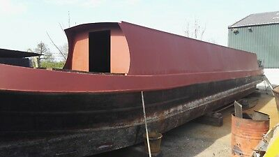 Narrow boat 56' project